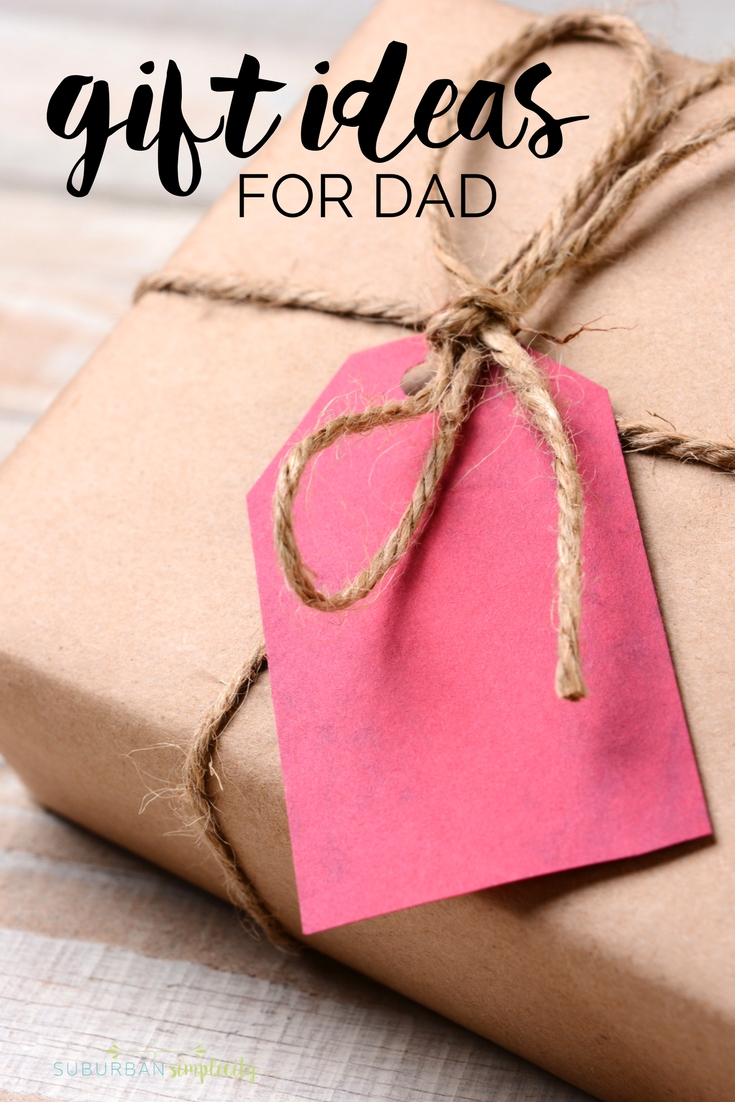 These Gift Ideas for Dad are exactly what you're looking for.  Whether you're near or far, make your dad feel special with these presents under the tree! #giftsfordad #giftguide