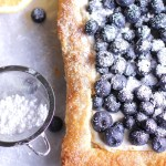 Heavenly Blueberry Tart with Puff Pastry