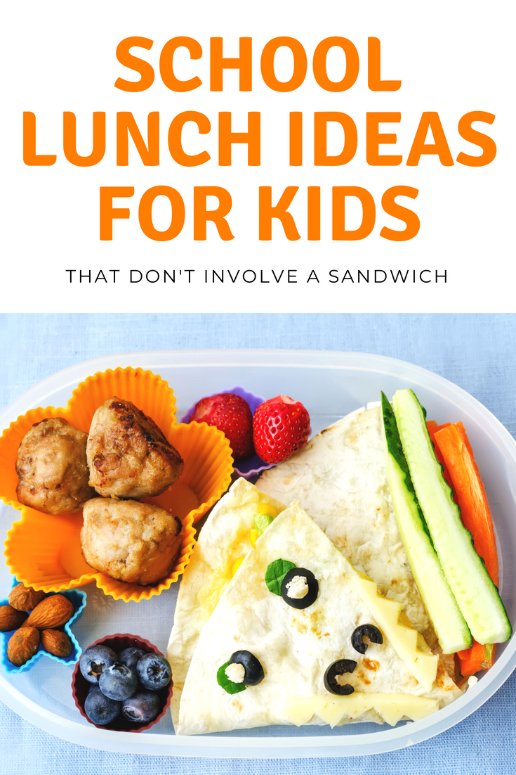 Looking for School Lunch Ideas for Kids?  Check out these fun and SUPER creative kids lunch ideas for school that'll make your life easier! #school #kids #lunches #lunchideas