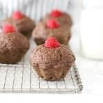 Cinnamon Bun Flaxseed Muffins