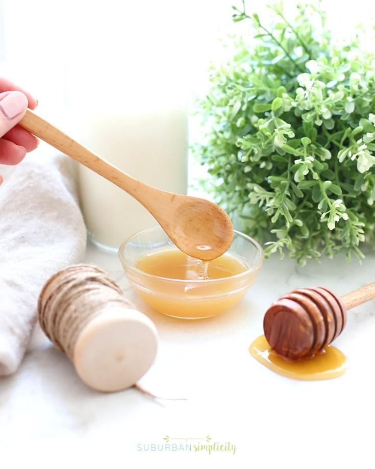 Milk and Honey Sugar Scrub DIY Tutorial - Suburban Simplicity