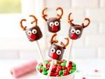 four Marshmallow Reindeer