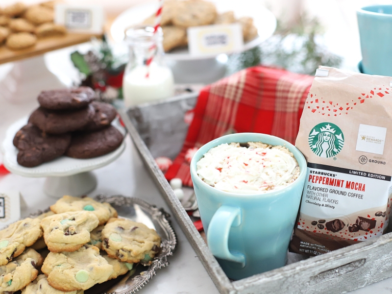 How to host a cookie exchange with coffee