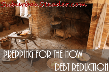 Prepping For The Now - Debt Reduction