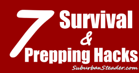 7 Survival and Prepping Hacks