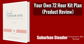 Your Own 72Hr Kit Plan Ebook (Product Review)