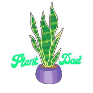 plant-dad-sticker