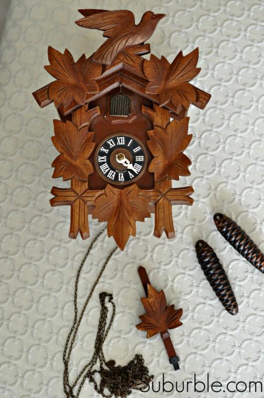 Cuckoo Clock Makover - Suburble