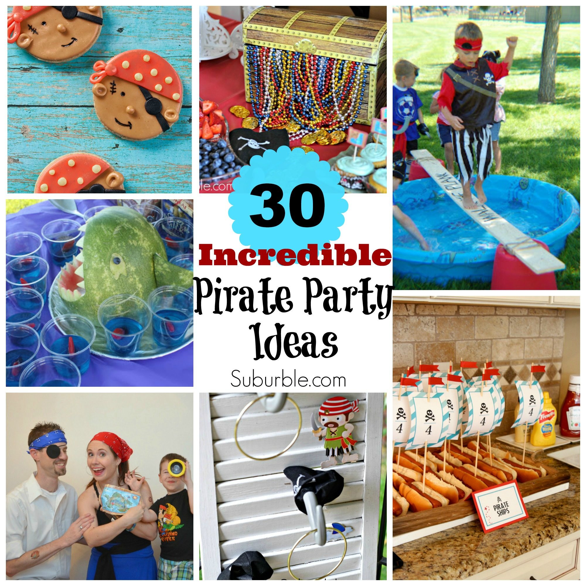 30 Incredible Pirate Party Ideas