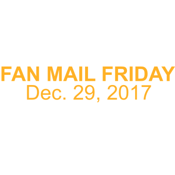 Thumbnail for Episode 250: Fan Mail Friday – Dec. 29, 2017