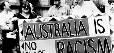 Australia no room for racism