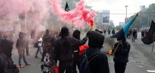 The Indonesian anarchists prisoners were arrested on May Day