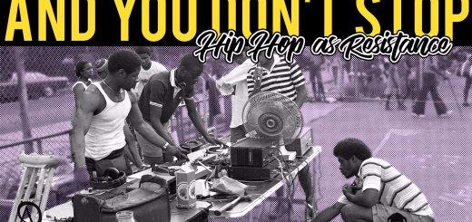 Trouble Resistance Hip Hop Poster