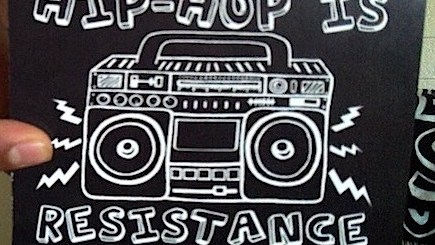 Hip Hop is Resistance Boombox