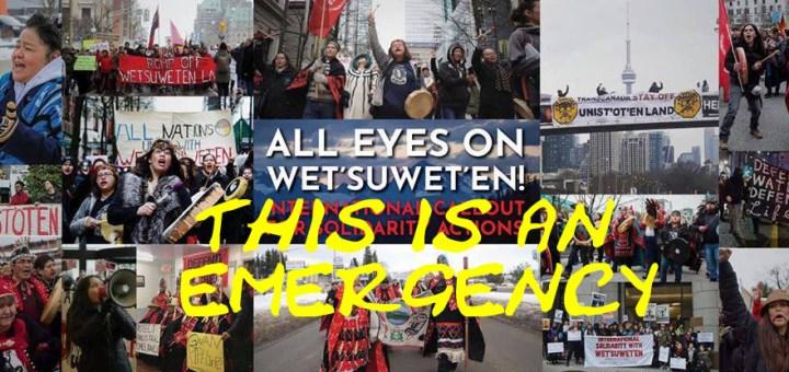 Emergency on Wet'suwet'en Territory