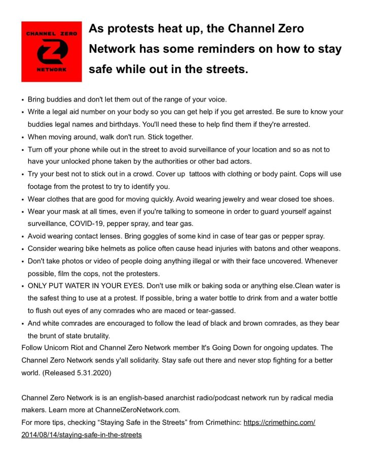 CZN Street Action PSA