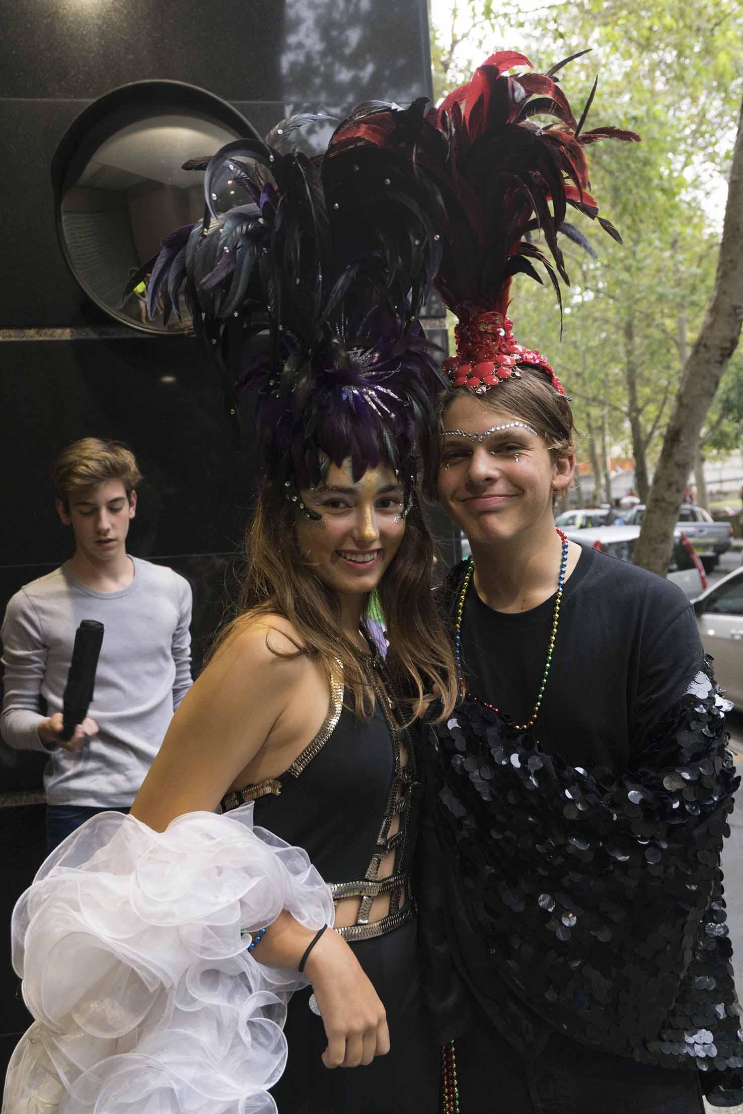 Sydney Mardi Gras shot by Campbell Henderson