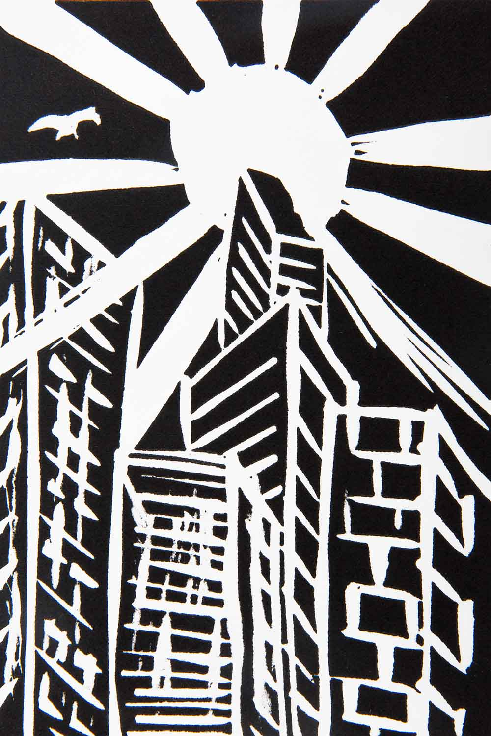 Rodney Mallee 'City Sunlight' for Open Canvas