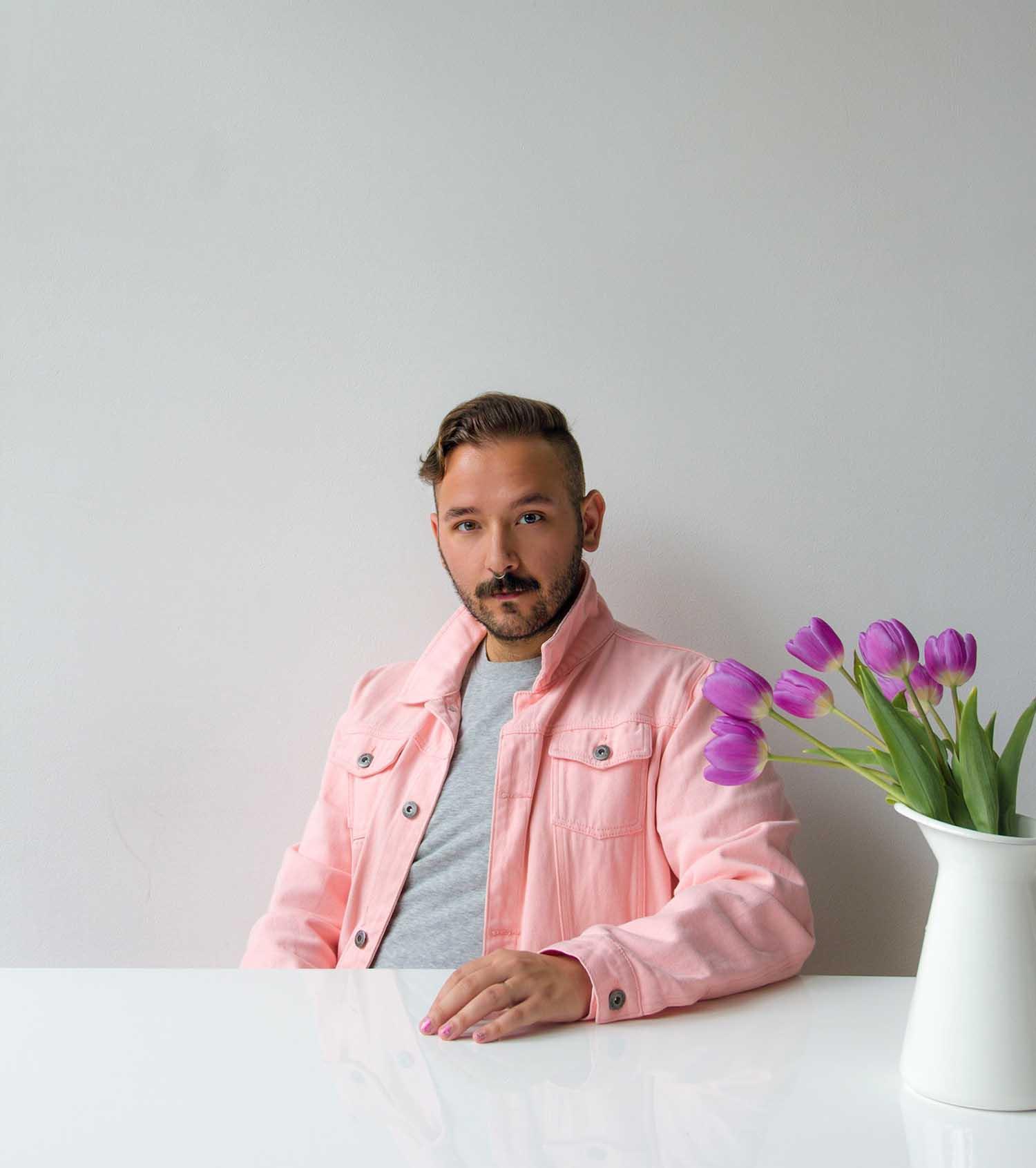Home cooking creator Michael Chernak