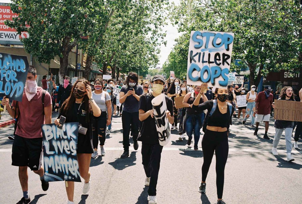 Protesters take the streets in San Jose, California