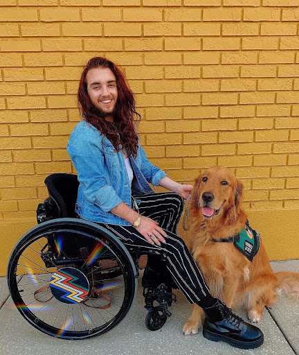 Julian Gavino discussed dealing with  internalized ableism.