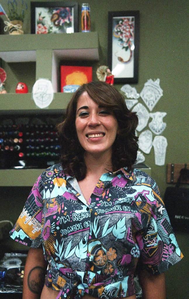 Portrait of tattoo artist in Puerto Rico Caguama