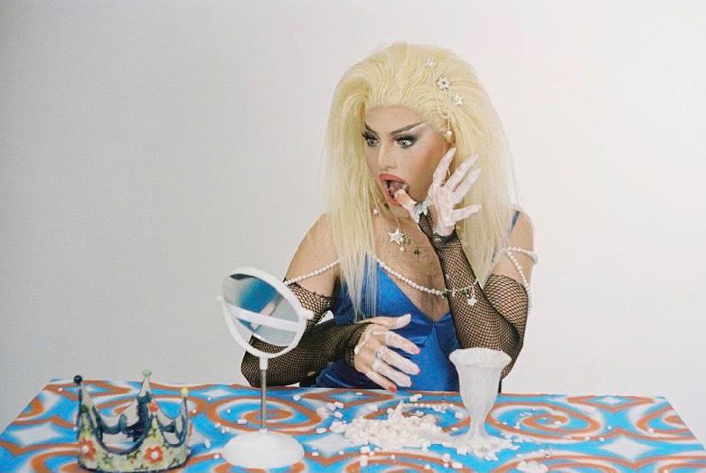 Drag Performer Benign Girl for Recycled Artist KRISTA