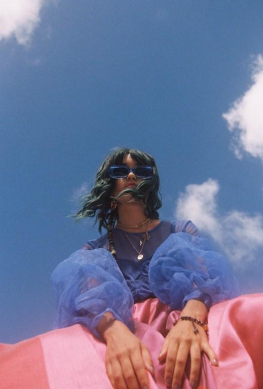 grace in futuremood's cool mood altering sunglasses