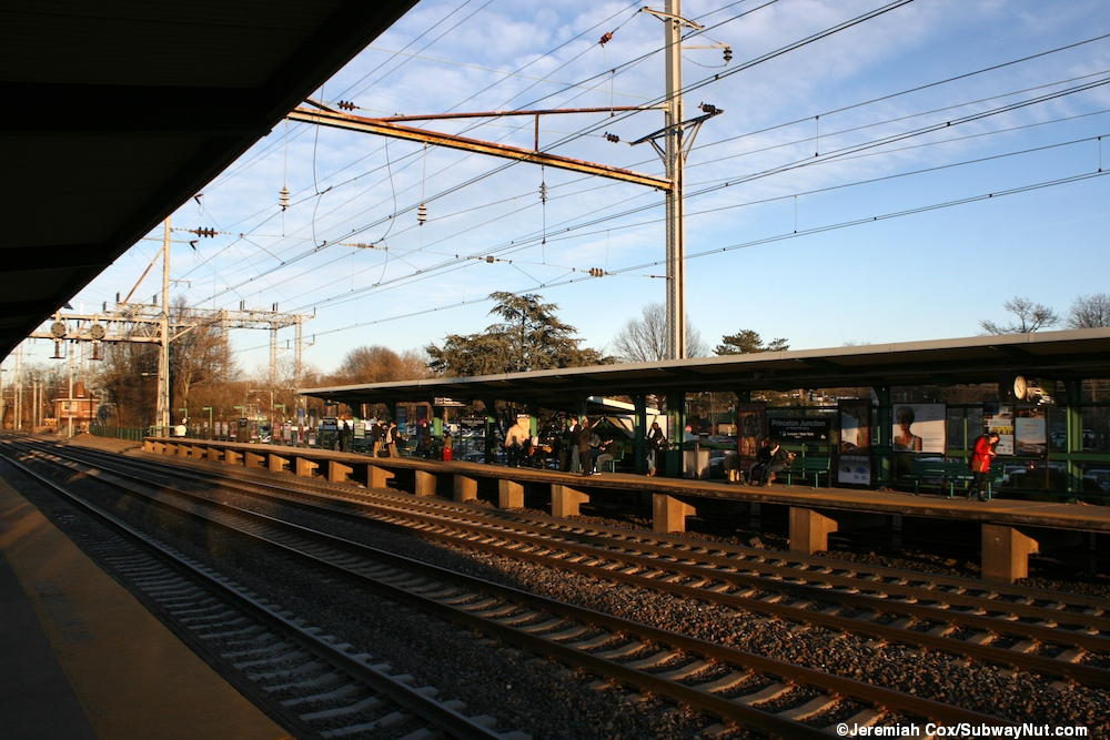 Princeton Junction Njt Northeast Corridor Line And The