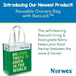 Norwex Reusable Grocery Bag