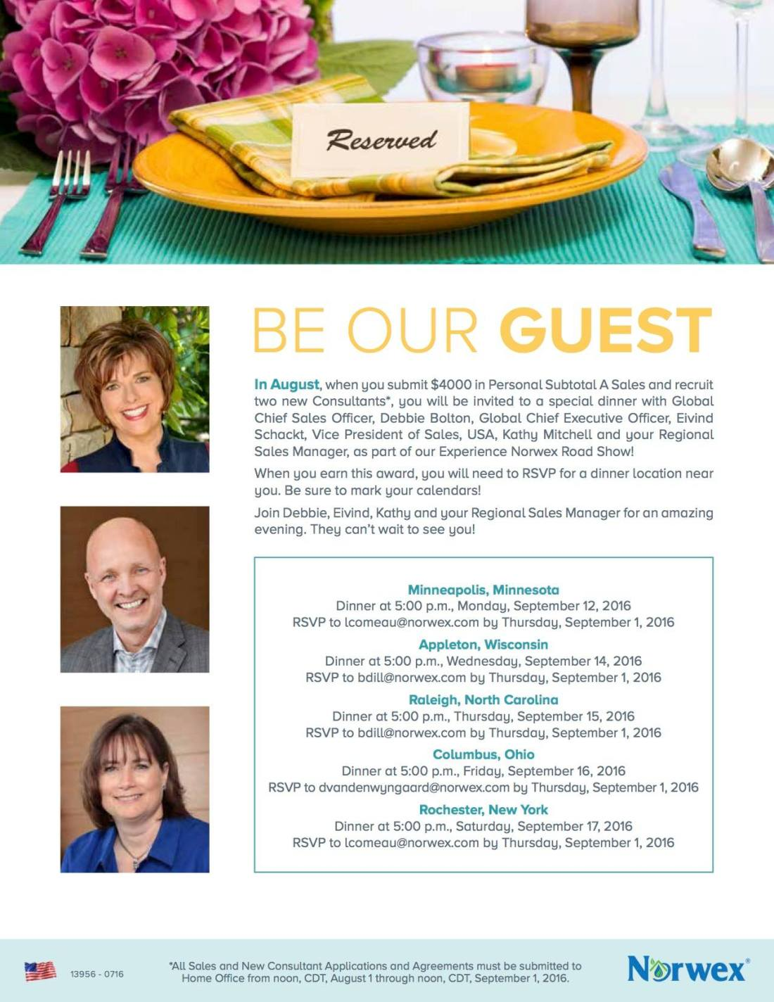 Norwex Be Our Guests