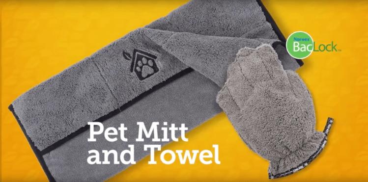 Norwex Pet Mitt and Pet Towel