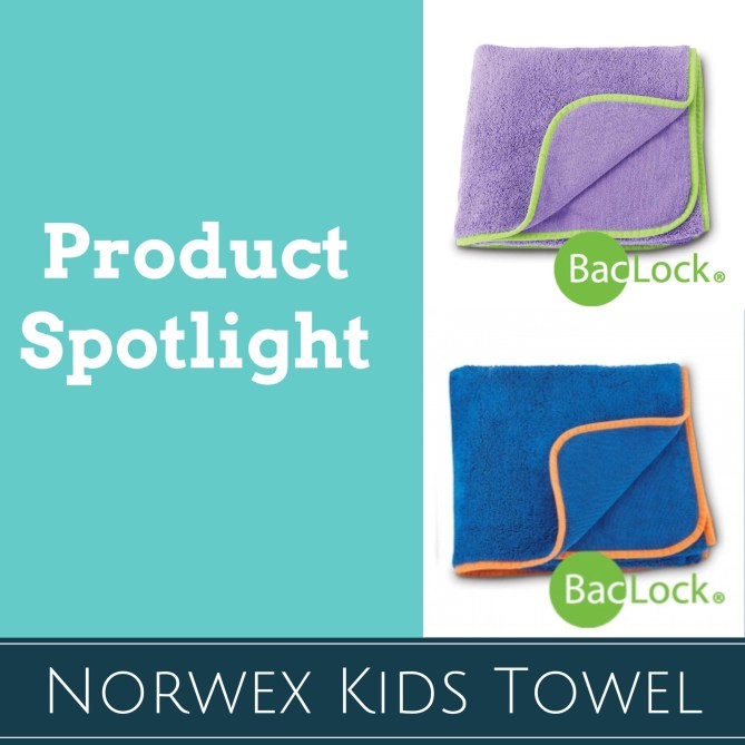 Norwex Kids Bath Towel