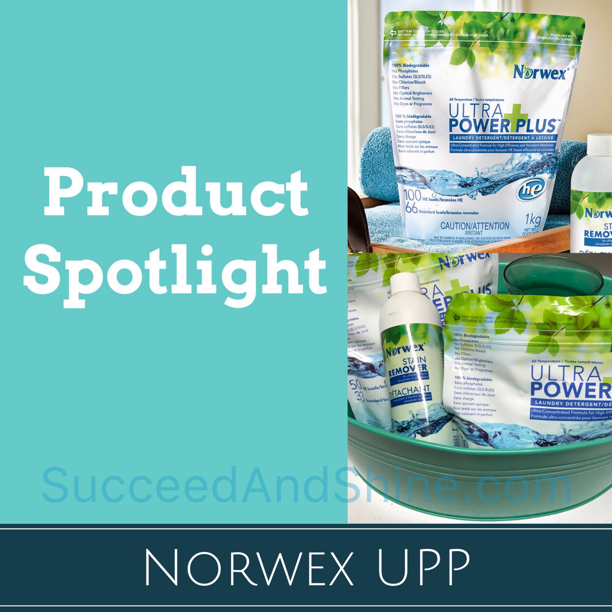 Product Spotlight Norwex Upp Succeed And Shine