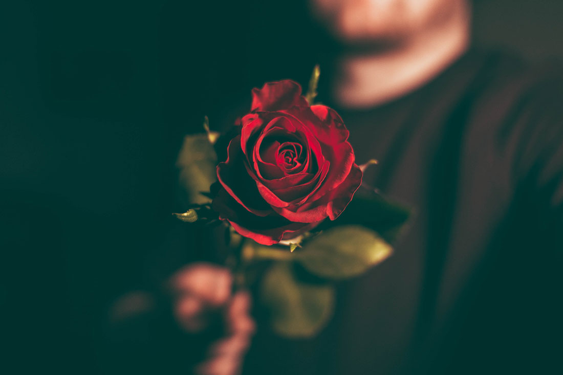 How to Make Magic With a Rose and a Milkshake