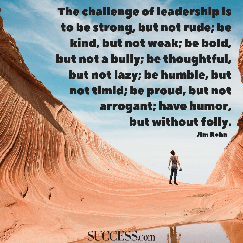 10 Powerful Quotes on Leadership | SUCCESS
