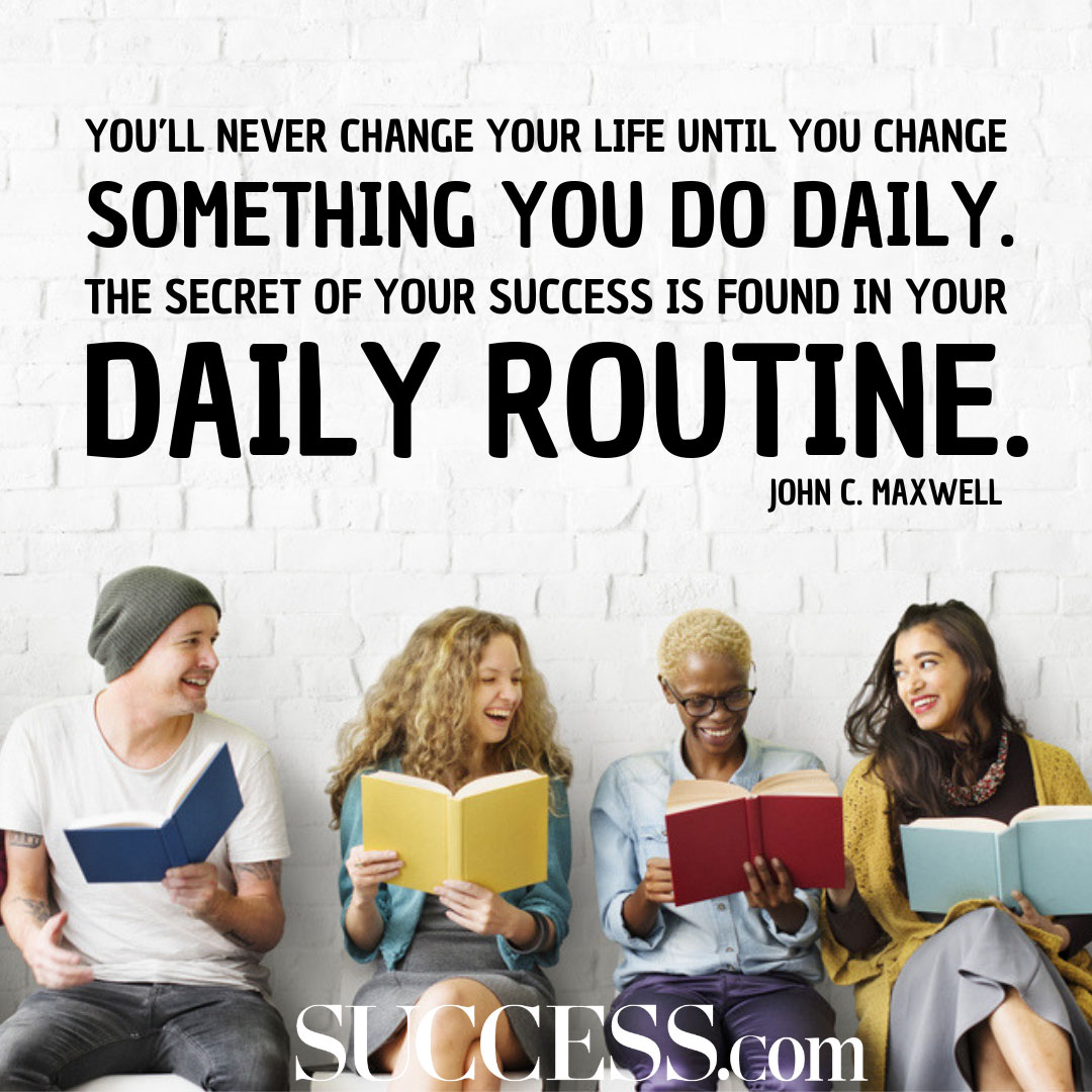 10 Quotes About Changing Your Life With Good Habits