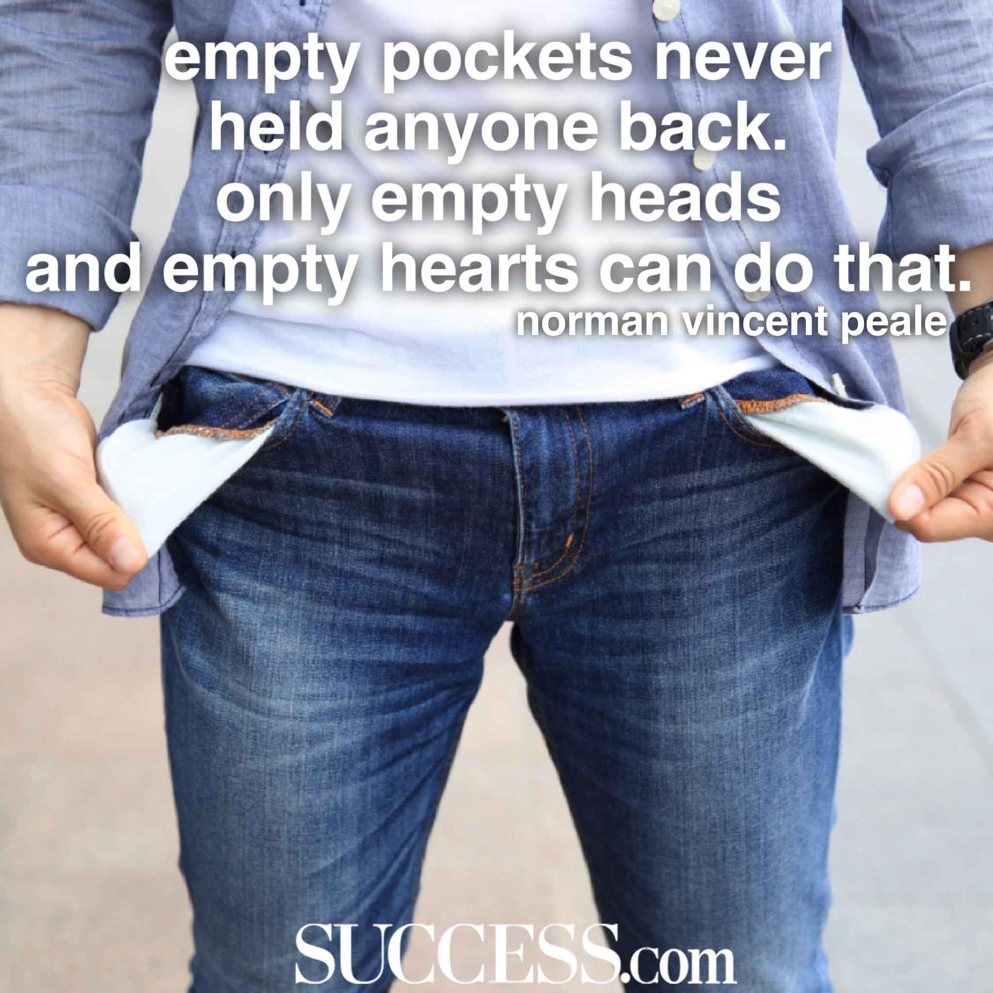 Empty Pockets - Learning to Live on Less