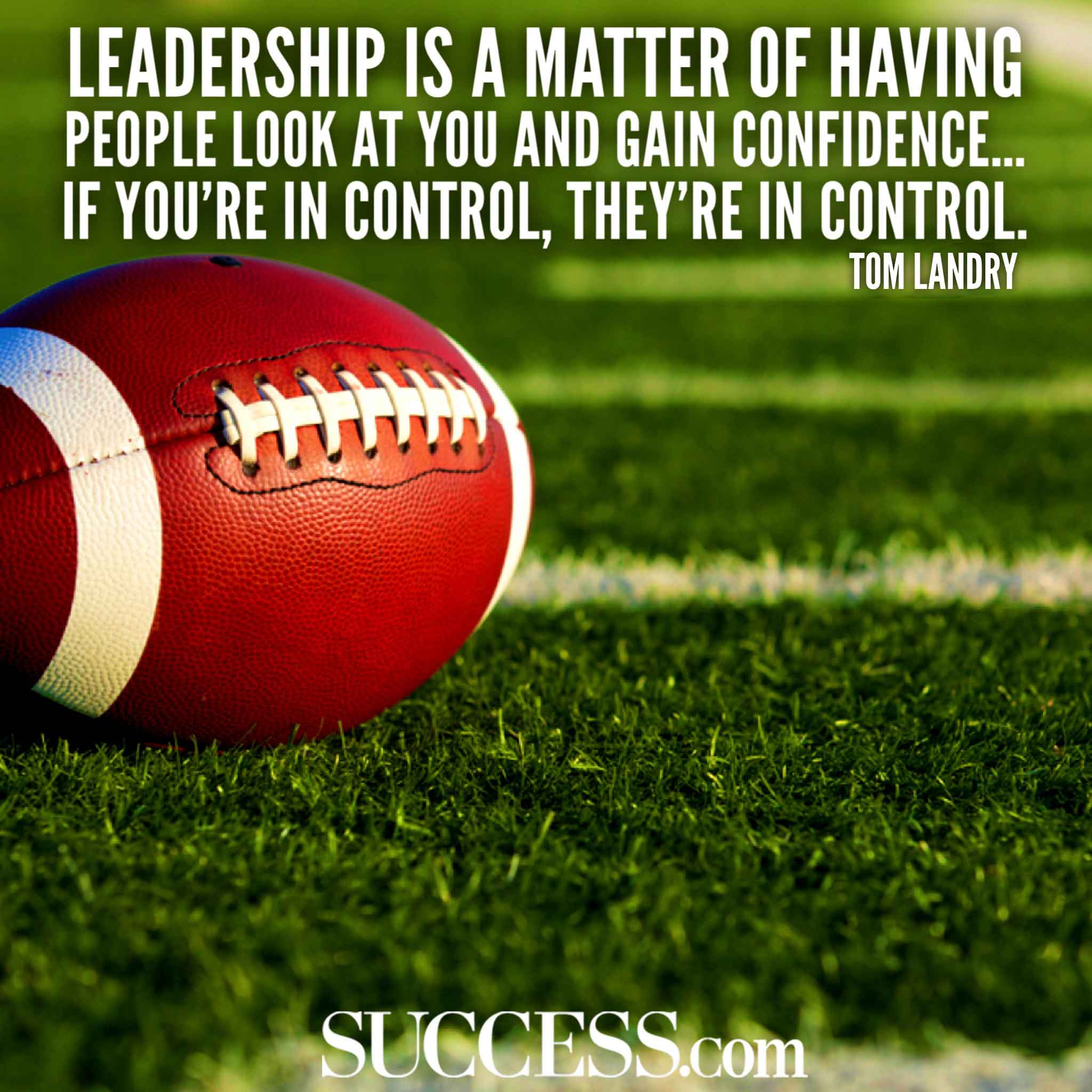 Image of: Success Success Magazine 20 Motivational Quotes By The Most Inspiring Nfl Coaches Of All Time