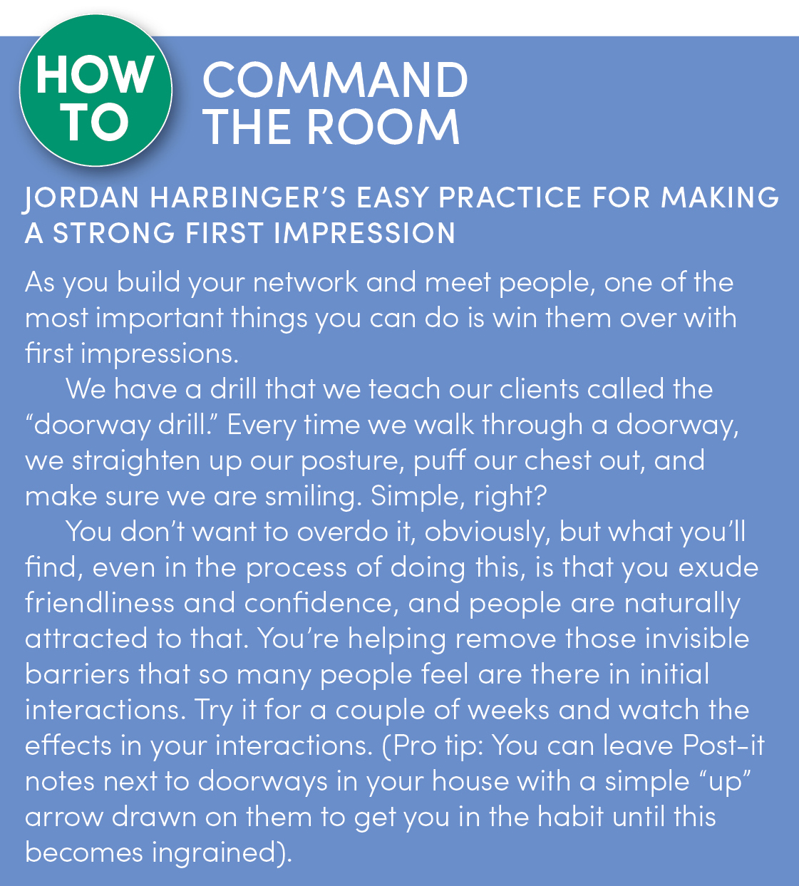 Jordan Harbinger's Best Advice: 'Always Be Giving'