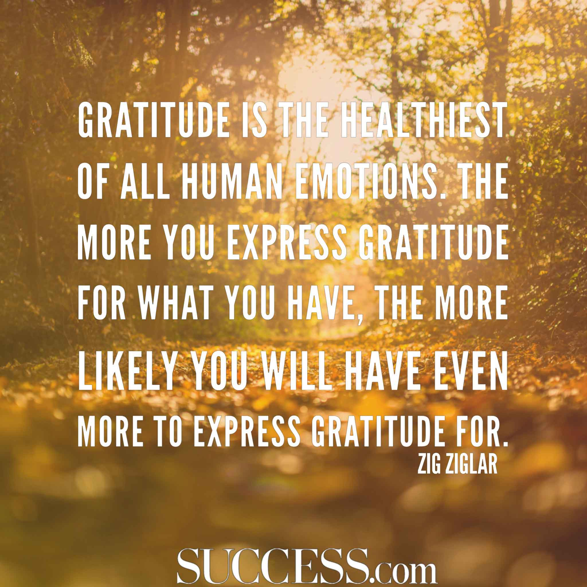 Image of: Love Quotes Success Magazine 15 Thoughtful Quotes About Gratitude