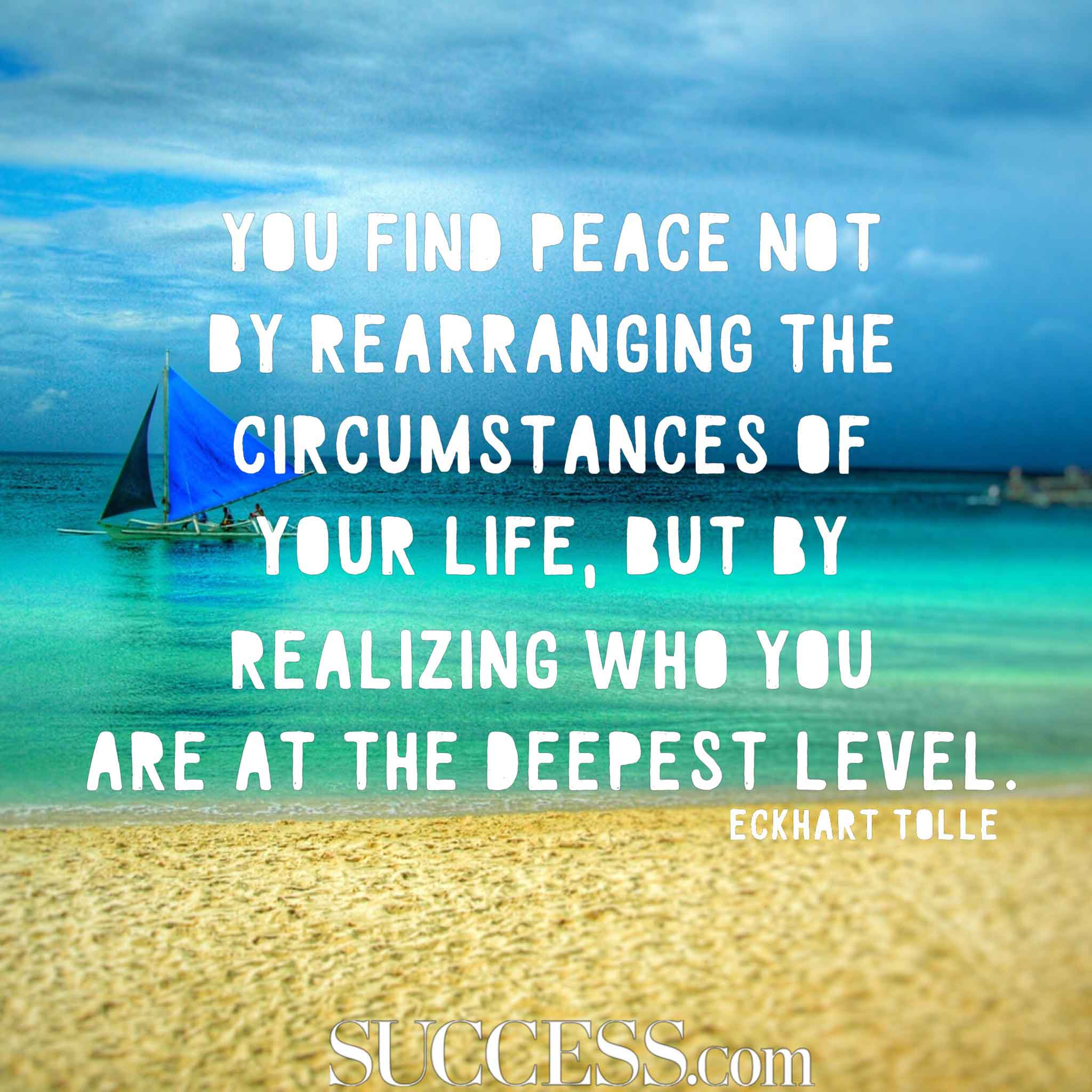 Peaceful Life Quotes 17 Quotes About Finding Inner Peace Peaceful Life Quotes