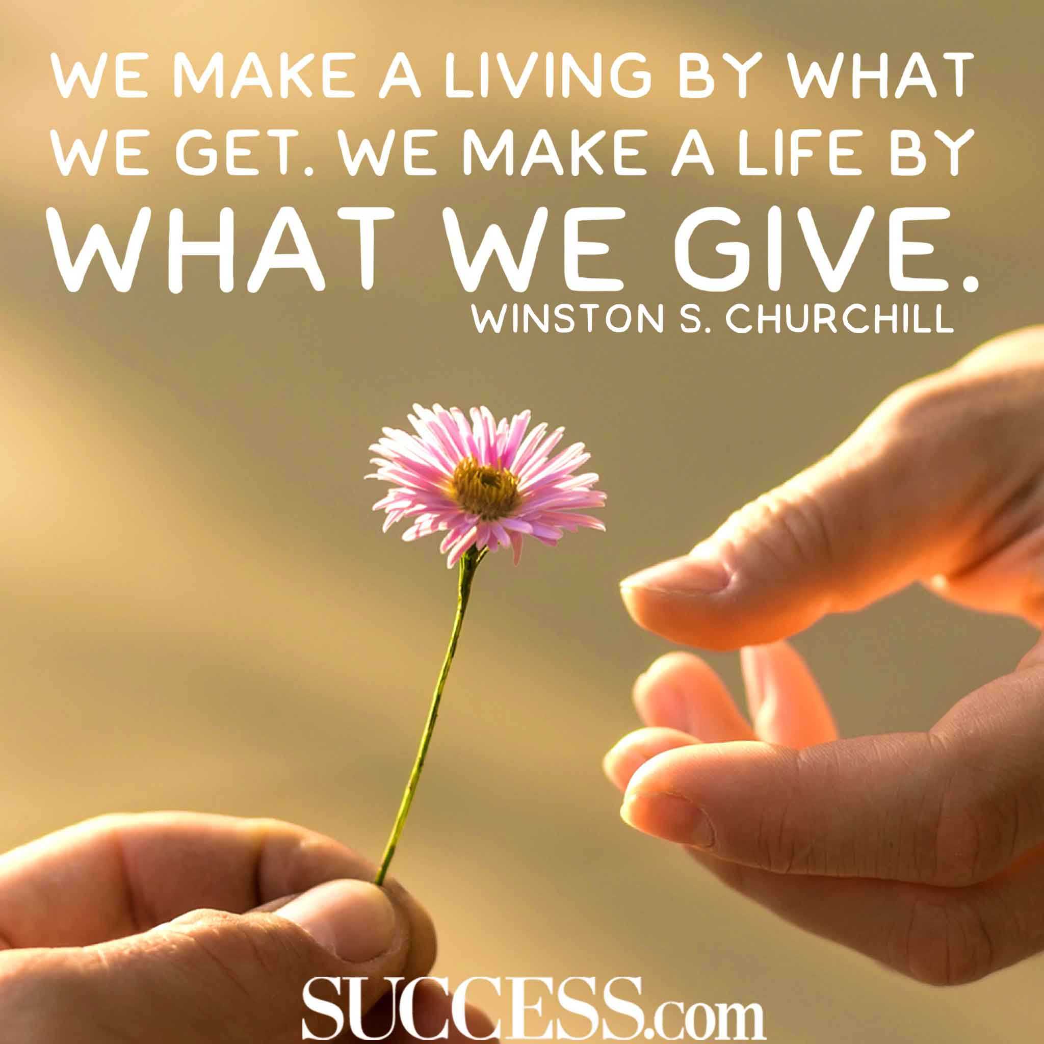 Giving Quotes 15 Inspiring Quotes About Giving Giving Quotes
