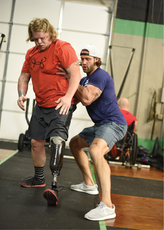 Former NFL Player David Vobora Is Helping War Veterans Push Their Limits