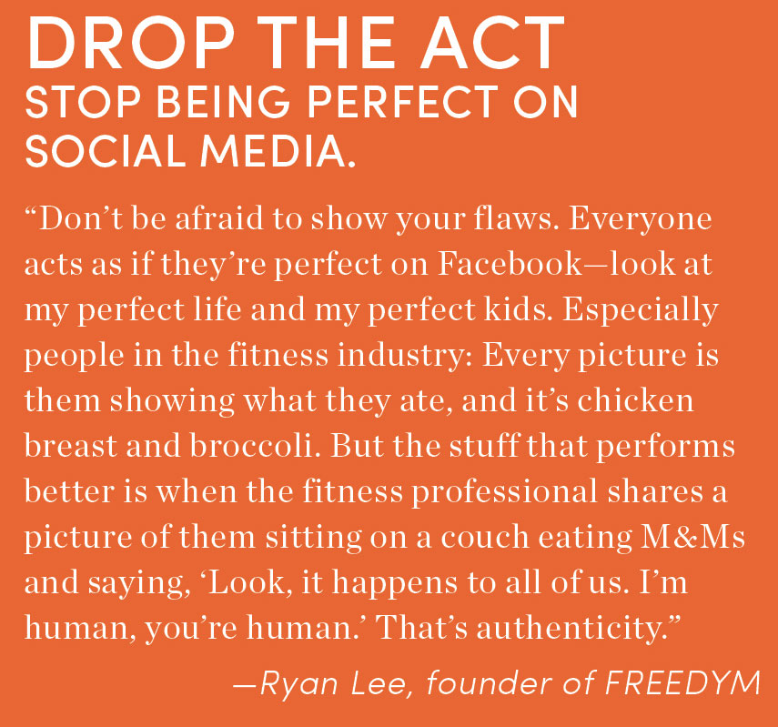 Stop Being Perfect on Social Media