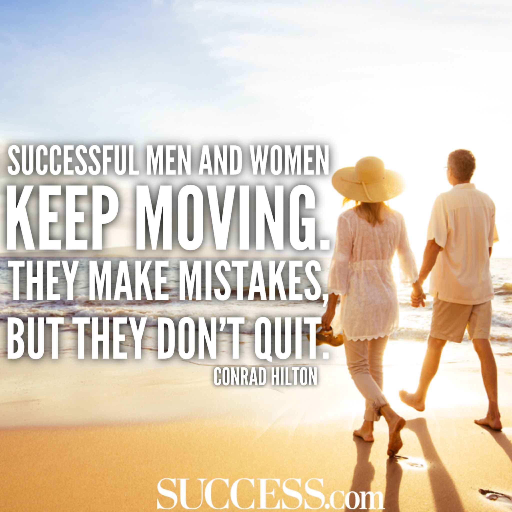 15 Inspiring Quotes About Never Giving Up Success