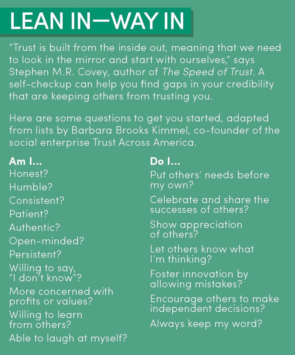 8 Tried-and-True Steps to Building Trust