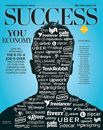 YouEconomy SUCCESS Magazine Cover Image