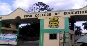 Foso College of Education Admission Requirements
