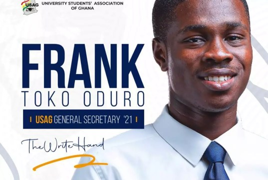 USAG Vetting Results: Frank Toko Shows Appreciation